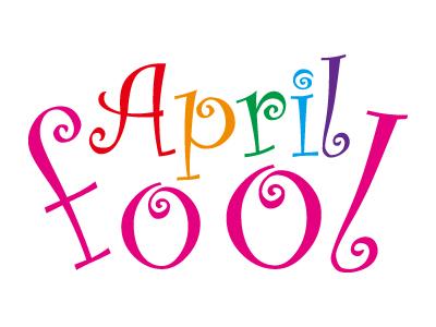 エイプリルフール、April fool